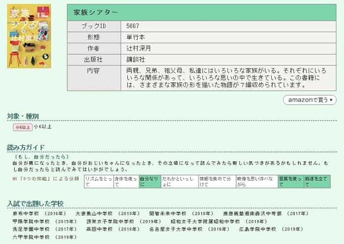 日能研読書ガイド
