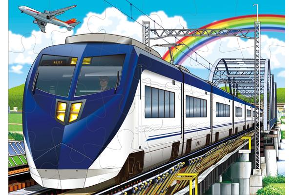 くもんのジグソーパズル STEP3すすめ特急列車